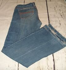Womens Abercrombie & Fitch Ezra Fitch Distressed Jeans Bootcut Size 27