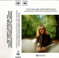 THIJS VAN LEER INTROSPECTION 2 * 1975 * Cassette * Flute Classical Crossover