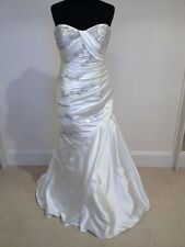 Pronovias Portal wedding dress / bridal gown in off white, size 12