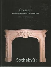 SOTHEBY'S CHESNEY'S Architectural Elements Chimney Fire Furniture Fireplace Cat