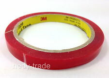 3M SUPER STRONG STICKY DOUBLE SIDED SELF ADHESIVE TAPE 10 MM CAR AUTO