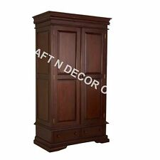 Comtempory Wardrobe/Almira/Cabinet of Shesham Wood in Brown Colour