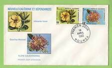 New Caledonia 1980 Flowers First Day Cover