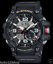 GG-1000-1A Black Men's Compass Casio G-Shock Analog Digital MASTER G MUDMASTER