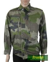 GENUINE FRANCE FRENCH ARMY COMBAT SHIRT JACKET F2 CCE CAMO
