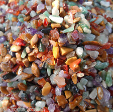100 Grams. AA++ HIMALAYAN ASSORTED / MIX CRYSTALS TUMBLED CHIPS / GRANULES.