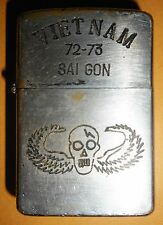 1972 - ORIGINAL ZIPPO LIGHTER - CIA / SPECIAL FORCES SAIGON - Vietnam War - 3704