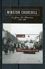 Guyana 2015 MNH Winston Churchill 50 Years in Memoriam 1874-1965 1v S/S Stamps