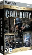 Call of Duty Deluxe Mac w/ United Offensive New Sealed