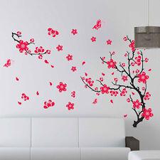 Bella Farfalla Prugna Muro Fiore FAI-DA-TE Decorazioni Adesive,Casa Decalcomania