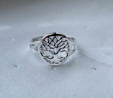 TREE OF LIFE TOE RING WICCA PAGAN 925 STERLING SILVER