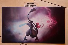 Custom Yugioh Playmat Play Mat Large Mouse Pad Pokemon Cool Mewtwo & Mew #646