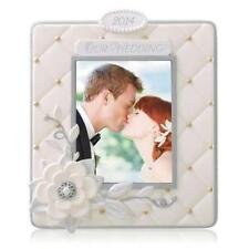 Hallmark Keepsake Ornament 2014 Our Wedding Photo Holder  - BRAND NEW IN BOX