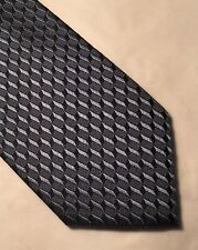 BURTON BLACK LABEL SILK BLUE SLIM-SKINNY TIE (A)