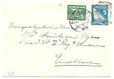 NETHERLANDS 1928 OLYMPICS  COVER # 215   F/VF