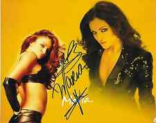 MARIA KANELLIS WWE DIVA SIGNED AUTOGRAPH 8X10 PHOTO #5