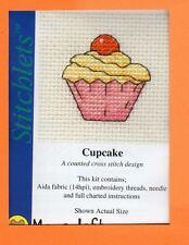 Stitchlets X Stitch Kit by Mouseloft  Cupcake
