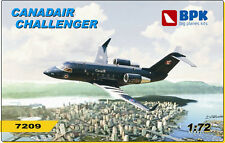 Big Planes Kits 1/72 Challenger CL 601 BPK7209 Canadair Challenger model kit