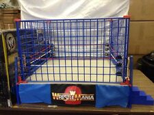 WWE Official Scale Cage Match Ring Jakks Pacific classic superstars wrestlemania