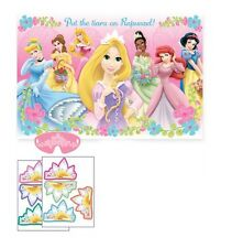 Disney Princess Birthday Party Game Place the Tiara on Rapunzel Party Supplies~