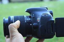 MINT Canon Rebel T3i / 600D 18.0 MP SLR Body With 18-55mm STM LENS (3 LENSES)