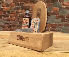 BOBOS BEARD COMPANY BEARD CARE KIT ,BEARD OIL, BEARD BRUSH, MOUSTACHE WAX + COMB