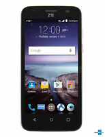ZTE Z812 Maven 8Gb AT&T Black Unlocked SmartPhone New Android Phone ****