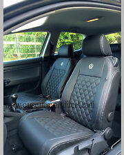 VOLKSWAGEN VW GOLF MK5 DIAMOND QUILTED & FOAM BACKED SEAT COVERS