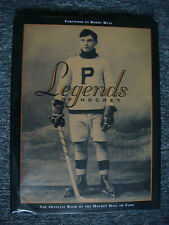 Legends of Hockey 1996 - With Autographs - Official Book Of Hockey Hall of Fame