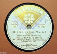 E.Hartung - Die Soldaten-Marie! / Karl Jahn - Wann dr Manes schleiht die Trumm