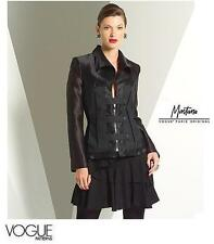 VOGUE Sew Pattern 2936 Claude Montana Edgy Jacket & Tiered Skirt   12-14-16