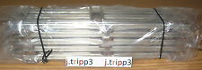 LIONEL 6-65038 O-27 GAUGE STRAIGHT TRACK SECTION LOT of 10 TRAIN LAYOUT TUBULAR