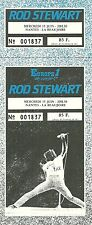 RARE / TICKET CONCERT - ROD STEWART : LIVE A NANTES FRANCE JUIN 1983 /COMME NEUF