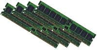 4x 4GB 16GB DDR2 RAM Speicher HP Proliant DL360 G4p ECC Registered PC2-3200R