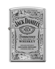 "Zippo ""Jack Daniel's Old No. 7 Tennessee Whiskey"" Fusion Chrome Lighter, 0042"