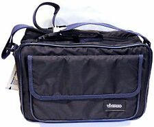 Blue CASE/BAG DSLR SLR Bridge Digital Photo Compact Camera Shoulder Strap PADDED