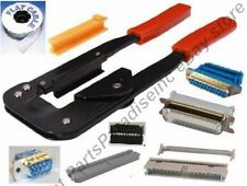 IDC/IDS Ribbon Cable Crimper/Crimping/Crimp Hand Tool for IDE/SCSI/FD/Centronic