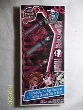 Monster High Freaky Streaky 5 Piece Hair Set NIP 2013