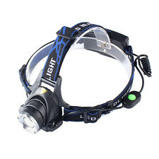 3000LM XML T6 LED Headlamp Adjustable Headlight 18650 Torch Rechargeable Light