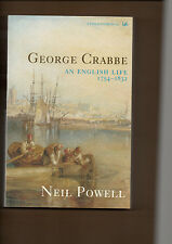 GEORGE CRABBE BIOGRAPHY POETRY POET PETER GRIMES AN ENGLISH LIFE