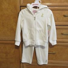 Toddler girls Juicy Couture jogging suit set size 2T brand new NWT $78.00