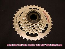 SHIMANO HG40 MEGA RANGE 6 SPEED 14/34 FREEWHEEL (BLOCK/SCREW ON CASSETTE )