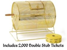 New Raffle Prize Spin Drum With 2,000 Tickets