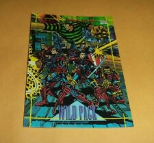Wild Pack # 5 - 1993 Marvel Universe Series 4 Base Trading Card
