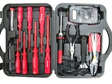 29PCS ELECTRICAL TOOL SET INC. MULTIMETER AND ELECTRICAL SCREWDRIVERS, PLIERS +