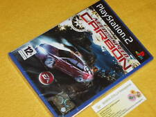 PS2 NEED FOR SPEED CARBON Playstation 2 NO PLAT. NUOVO