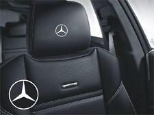 5x Aufkleber Logo Simbol Mercedes Stern für Ledersitze und mehr