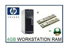 4GB (2x2GB) ECC Memory Ram Upgrade for HP Workstation XW8400 & XW8600 ONLY