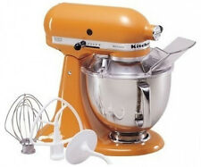 KitchenAid Stand Mixer tilt 5-Quart ksm150pstg Artisan 10-sp Tangerine Orange