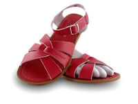 Ladies Adult Saltwater Sandal - Red